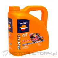 REPSOL MOTO RACING 4T 10W50 SYNTHETIC - 4L